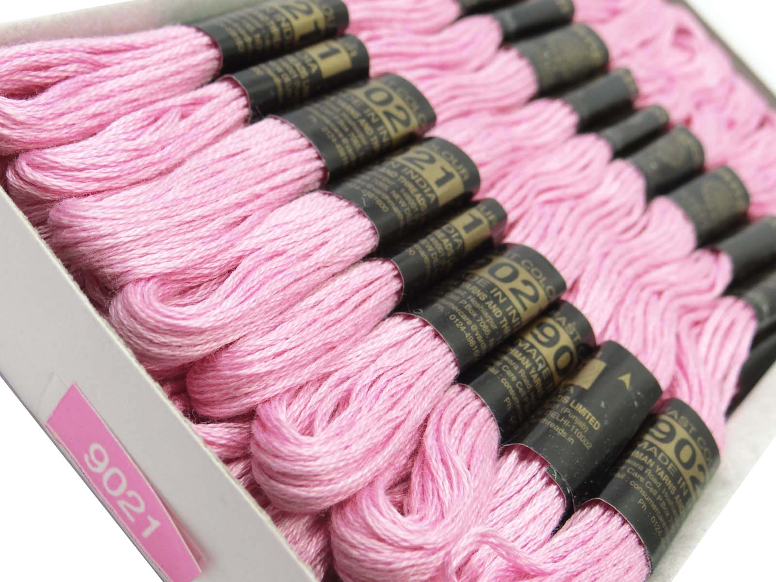 25 Pcs Pack Stitch Thread Embroidery Sewing Skeins Hand Set Cotton Cross Floss